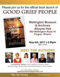 Book - Good Grief People - Invitation and Poster